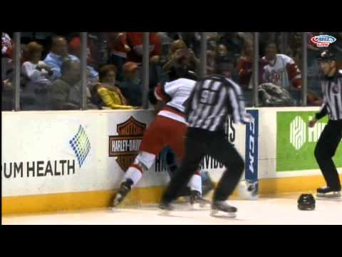 Jordin Tootoo vs. Mike Liambas