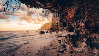 "【4K】Virtual Hike to The Real Hidden ""Unknown"" Beach in Benoa   BALI Beautiful Beaches"