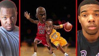 MICHAEL JORDAN VS KOBE BRYANT! - NBA LIVE 2003   #ThrowbackThursday ft. Juice