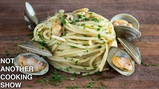 how to make REAL SPAGHETTI ALLE VONGOLE