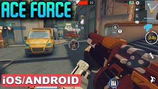 ACE FORCE - iOS / ANDROID GAMEPLAY