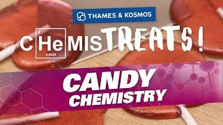 CHeMISTREATS! Make Hard Candy Lollipops With Candy Chemistry