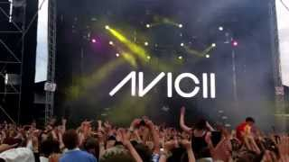 Avicii LIVE AT HELSINKI: I could be the one (live)