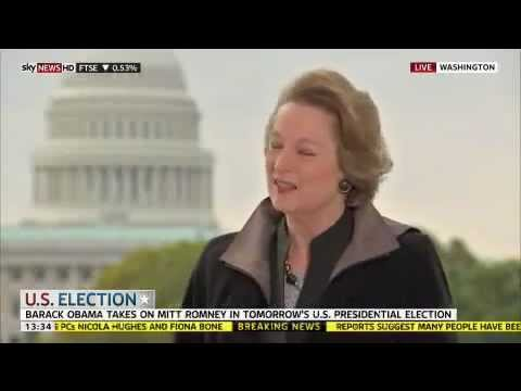 Susan Eisenhower discusses Election 2012 on
