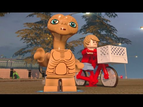 LEGO Dimensions - E.T. Free Roam (E.T. Adventure World)