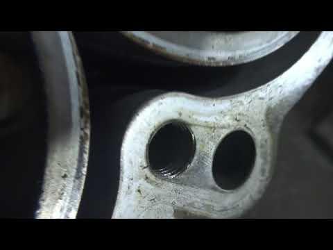 HYUNDAI KIA V6 G6DJ 3.8L блок в утиль после ремонта