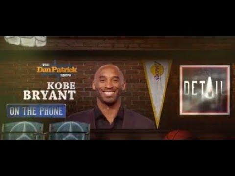 "Kobe Bryant Talks ""Details,"" MJ, Oscars & More w/Dan Patrick | Full Interview | 4/12/18"