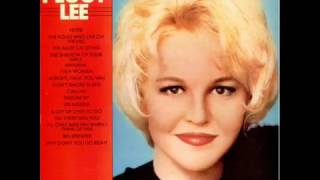PEGGY LEE--would you dance with a stranger