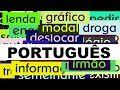 3000+ Portuguese Words with Pronunciation