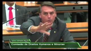 BOLSONARO ESCULACHA FALSOS DEFENSORES DE DIREITOS HUMANOS