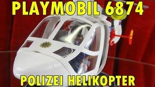 """PLAYMOBIL 6874 POLIZEI HELIKOPTER"""" -...mit Peter und Fozzie Bär"""