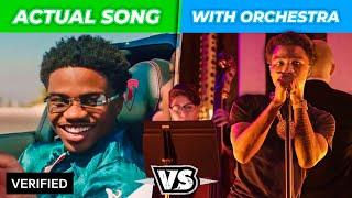 POPULAR RAP SONGS VS. ORCHESTRAL VERSIONS [AUTOTUNE vs. NO AUTOTUNE] - Roddy Ricch, Trippie & More