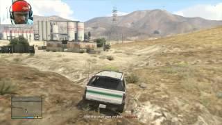 Grand Theft Auto 5 Walkthrough Part 103 - BORDER PATROL! | GTA 5 Walkthrough