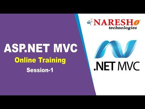 Asp Net MVC Online Training Session 1 - YouTube