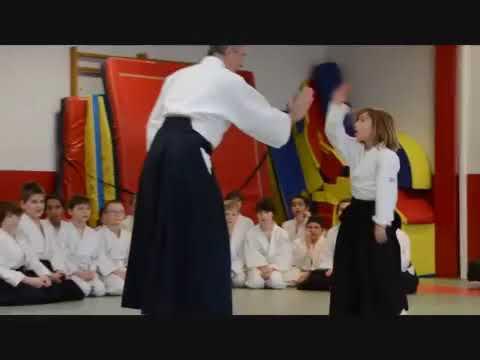 Aikido Stage Jeunes Lunéville 3 Février 2019 part2