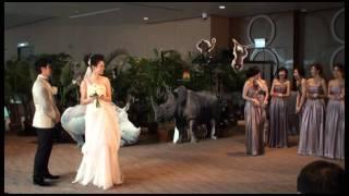 Konnie & Dickson's Wedding 呂慧儀﹠黃文迪結婚特輯 Part 2 ZEUZ.COM獨家採訪