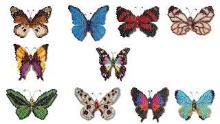 Learn To Make Beautiful Beaded Butterflies!