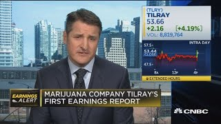 Tilray CEO on first earnings report and growing cannabis industry