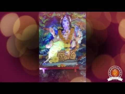 Shreya Parulekar Home Ganpati Decoration Video