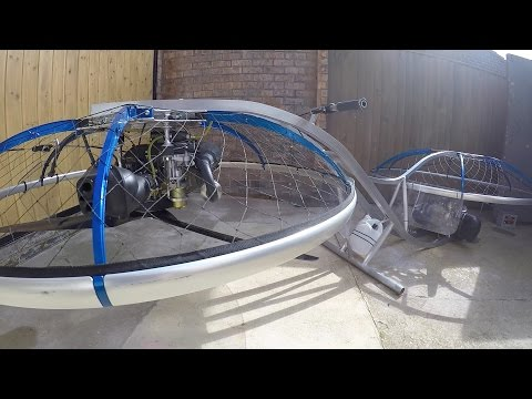 Making a Home made Hoverbike