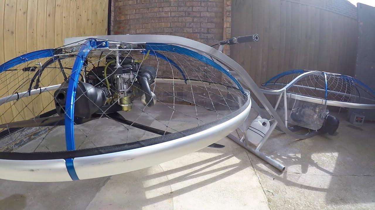 Dos Parajet Zenith para una hoverbike
