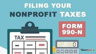 How to File your Nonprofit Taxes