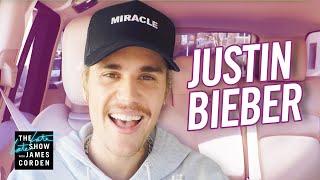 Justin Bieber Carpool Karaoke 2020
