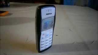 Escucha los tonos del clásico Nokia 1100