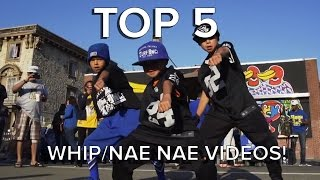 Silento   Watch Me (WhipNae Nae) Videos #WatchMeDanceOn | TOP 5