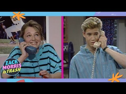 The Time Zack Morris Told His Girlfriend's Little Sister To Hook Up With Him Twice.