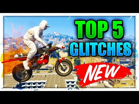 GTA 5 ONLINE TOP 5 SOLO BEST GLITCHES 1.46! OPPRESSOR GLITCH, SECRET LOCATIONS & MORE!