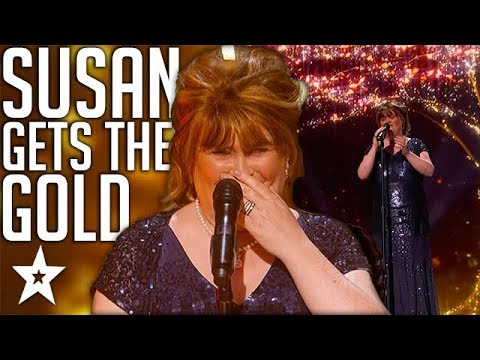 Susan Boyle Wins GOLDEN BUZZER on AGT The Champions | Got Talent Global