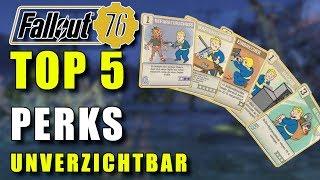 Meine Top 5 Perks | Fallout 76 | Perk Guide