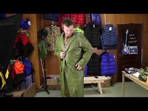 Плащ-дождевик ПВХ Alaska «Кенаи» V2. Видеообзор.