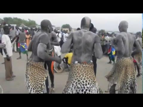Dinka Bor wrestlers Loor In Juba