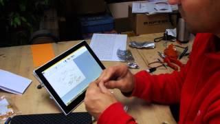 Gelöst: Stift für Touchpad selber gebastelt und experimentiert