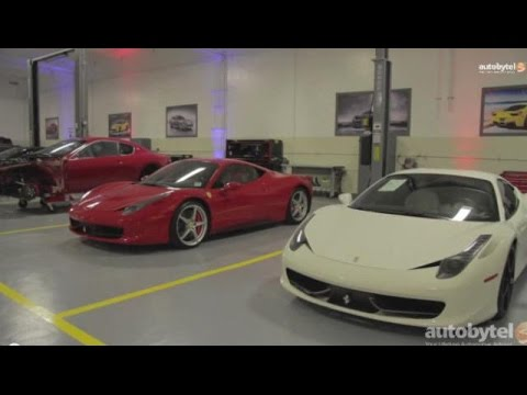 Newport Beach Ferrari & Maserati Collision Center Tour