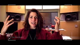 EVA MECKBACH über ihre Hörbuch-Vorbereitungen und den Schocker »Zugvögel«