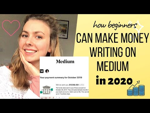 How Beginners Can Make Money Writing on Medium in 2020