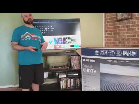 Review: Samsung 55″ Curved 4K Ultra HD LED LCD Smart TV 2017 Model (Best Value I Could Find)