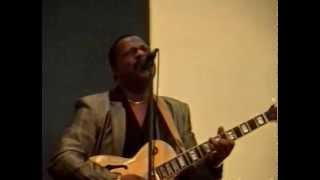 'Emmett North Jr'performing a few songs at my mothers church,Dayton,ohio