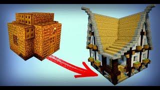 Minecraft Jak Zbudowac Ladny Duzy Dom Z Piwnica 123vid