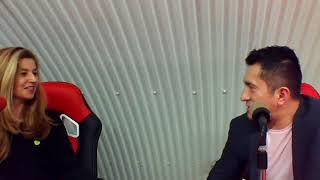 Invitado, el presentador Cesar Barragán.