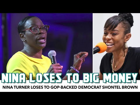 Nina Turner Loses To Republican-Backed Democrat Shontel Brown