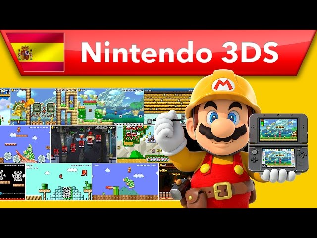 Super Mario Maker for Nintendo 3DS - Tráiler presentación