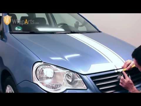 Rennstreifen anbringen - WrapArts