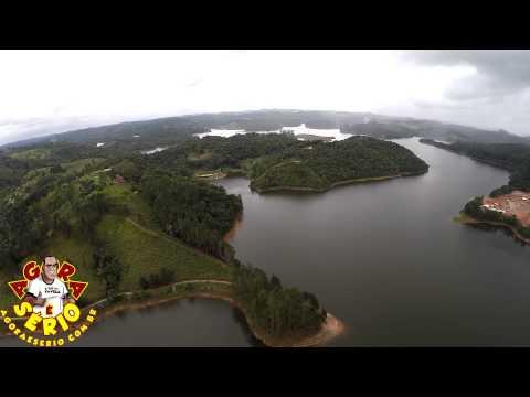 Favelacop Sobrevoando a Represa de Juquitiba