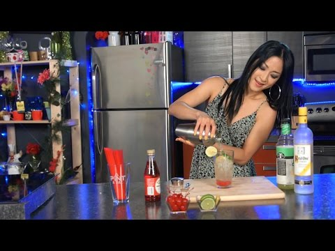 Video Quickies - Cherry Lime Vodka Sour