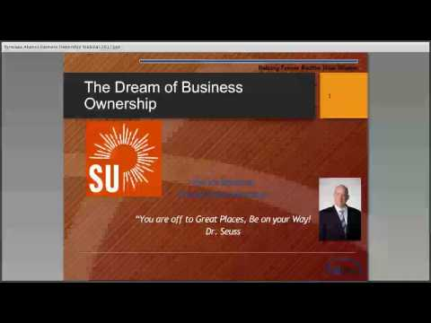 Alumni Webinar Series: Fulfilling Your Dream of Business Ownership - Patrick Donohue