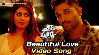 Beautiful Love Video Song | Naa Peru Surya Naa Illu India Songs | Allu Arjun | Anu Emmanuel |#NPSNII